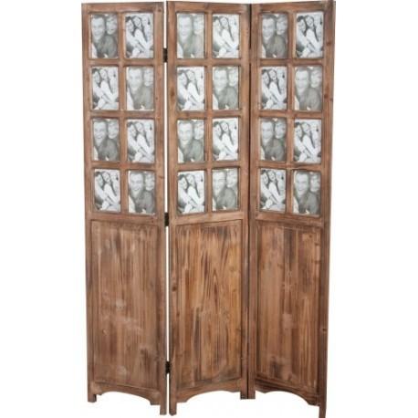 Separe 39 portafoto paravento in legno da arredamento casa for Arredamento casa biz