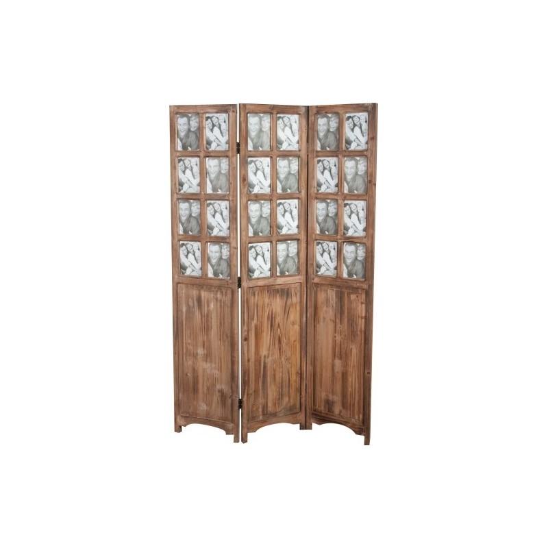 Separe 39 portafoto paravento in legno da arredamento casa for Arredamento casa in legno