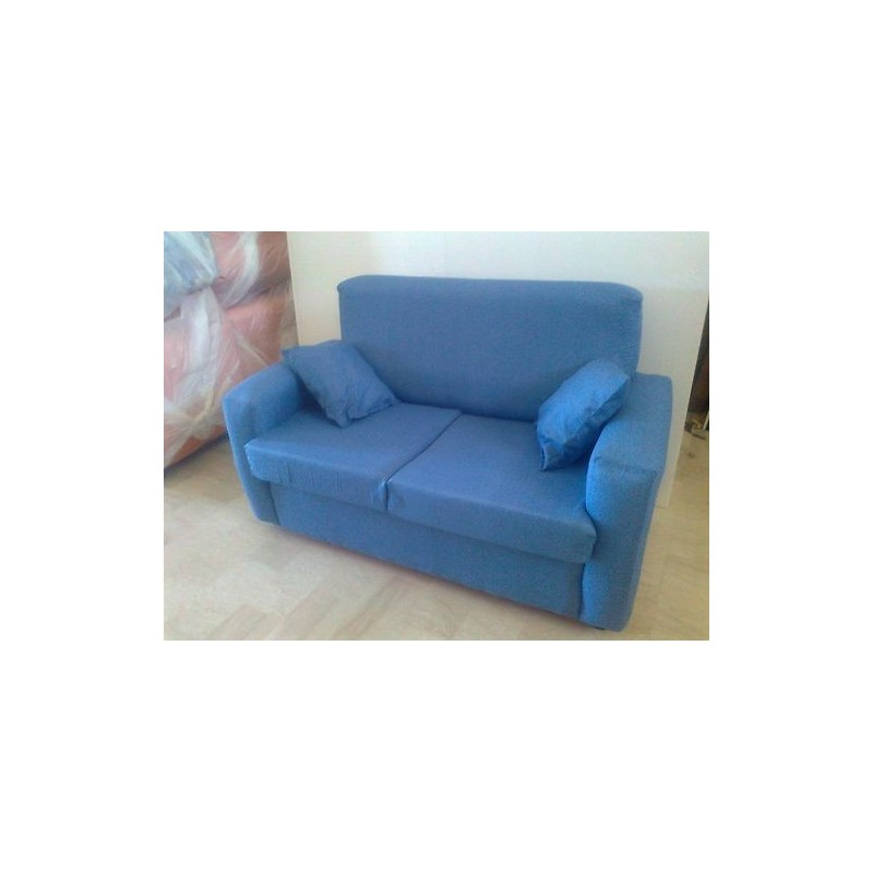Divano 2 posti divanetto tessuto sofà poltrona panca imbottita in ...