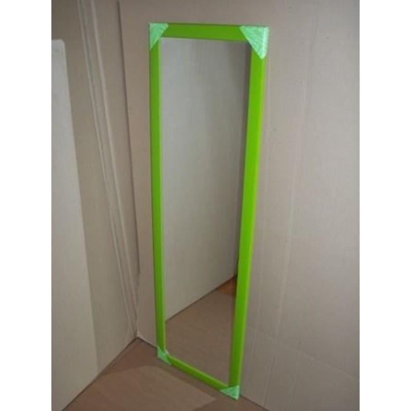 Specchio a parete per ingresso cameretta negozi verde mela - Parete a specchio per ingresso ...