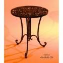 Tavolino basso in ferro pieno