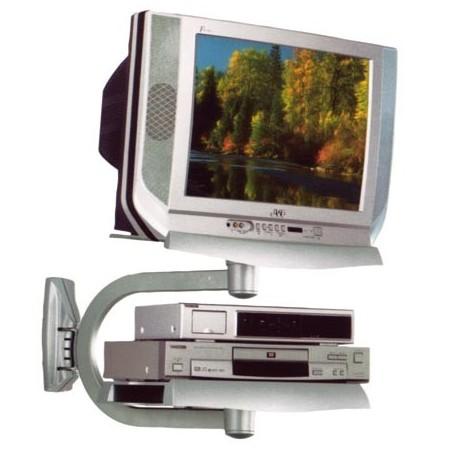 SUPPORTO PORTA TV VCR DVD A MURO ORIENTABILE - IlBottegone.biz