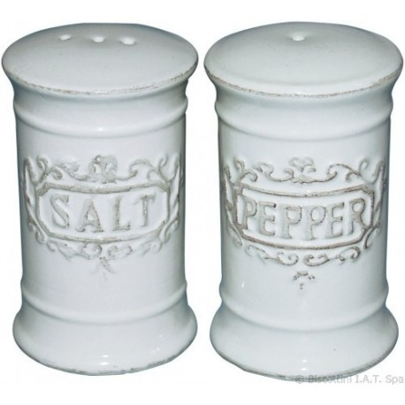SALE PEPE DOSATORE DA TAVOLA IN CERAMICA DISPENSER CUCINA ACCESSORI