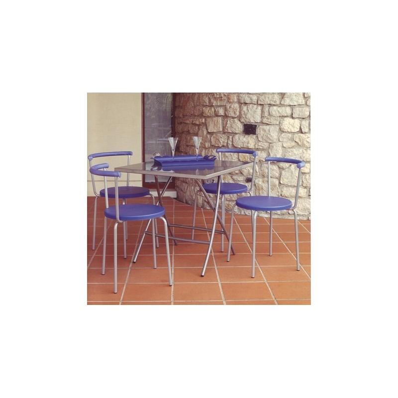 Sedie In Metallo Per Cucina.Sedia Cucina Sala Metallo E Abs Ilbottegone Biz