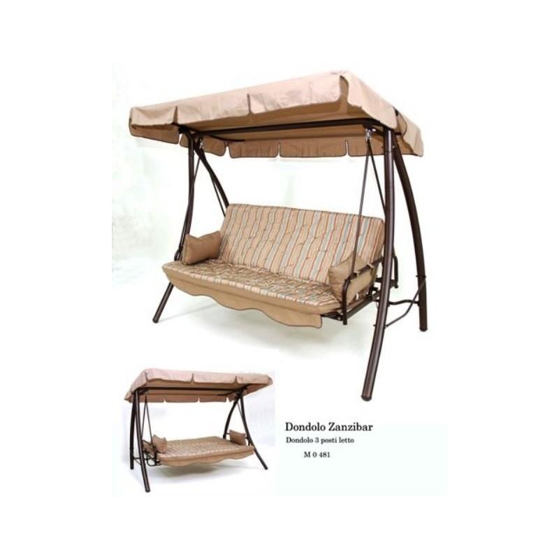 Dondolo da giardino reclinabile a letto - Dondolo da giardino reclinabile ...