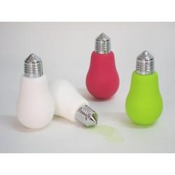 DISPENSER SAPONE bagno DOSATORE LAVABO a forma di lampadina