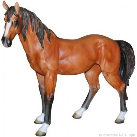 Cavallo rosso in resina soprammobile arredamento locali for Arredamento locali