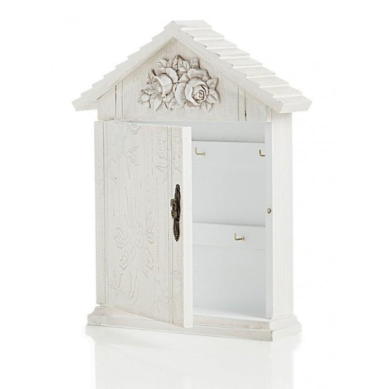 Portachiavi da parete porta chiave in legno casetta in legno - Portachiavi da parete ...