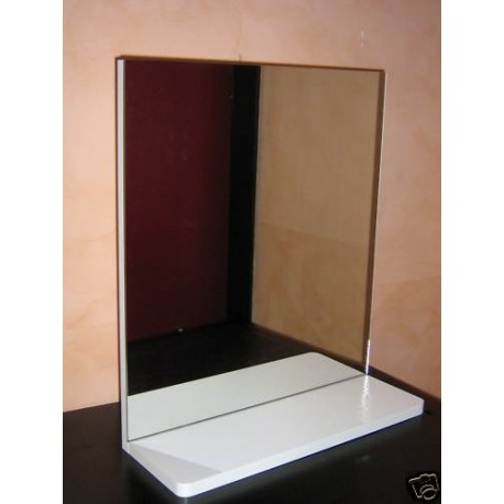 Specchio da bagno mini con mensola - Specchio con mensola bagno ...