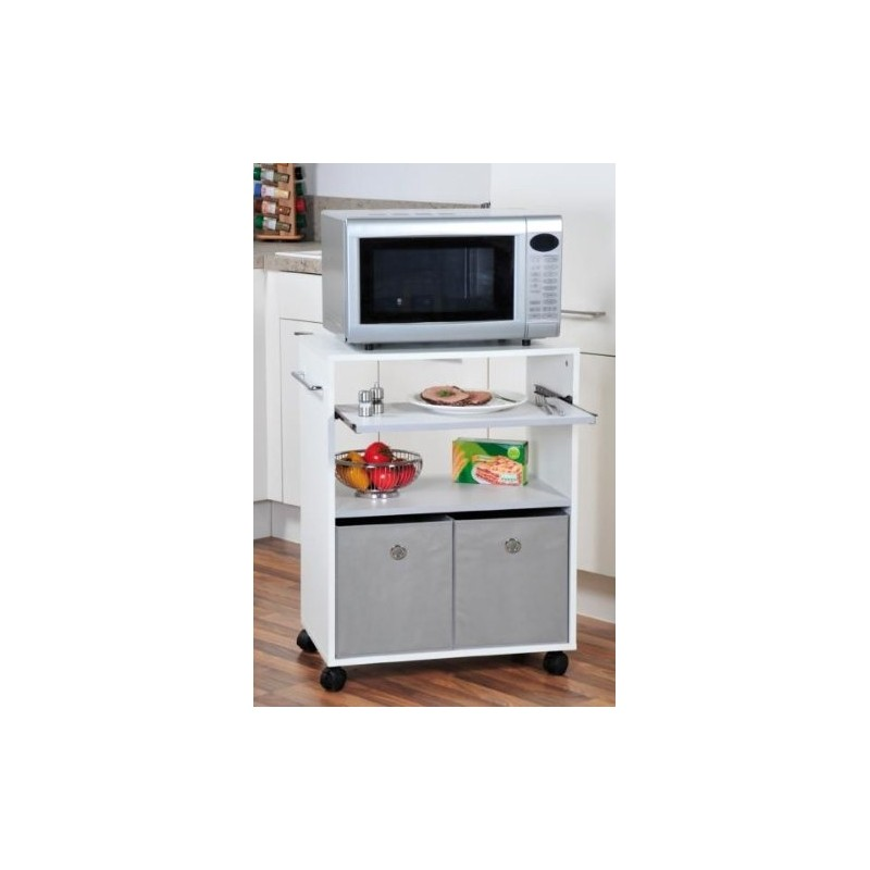 Mobile cucina per forno microonde porta bilancia robot con - Mobiletto per microonde ...