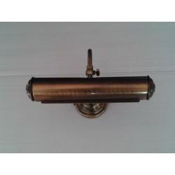 Applique quadro classico bronzo cm 32 lampada bagno a muro per specchio lavabo - Applique per bagno classico ...