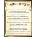 TARGA LATTA MEDICO TARGHE INGRESSO STUDIO MEDICO REGALO