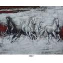 Quadro Pannello arredamento soggiorno salotto cavalli