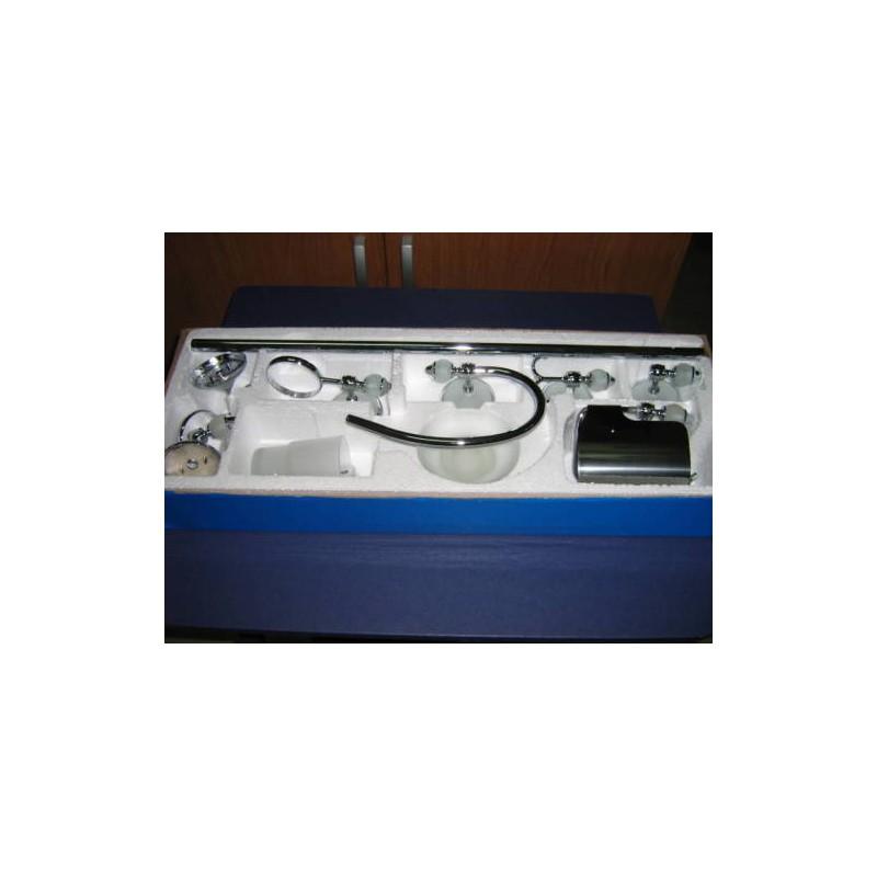 Accessori bagno in acciaio mobile bagno kit set - Accessori bagno in acciaio ...