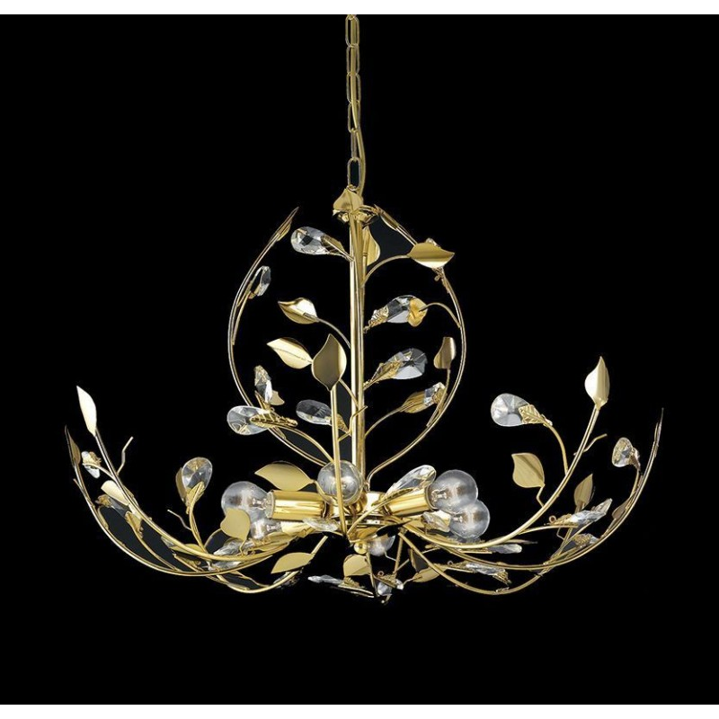 Lampadario moderno lampada design 6 luci made in italy - Luci sospensione design ...