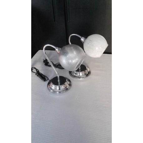 Lume in acciaio lumetto comodino lampada abatjour design for Lumetti da comodino