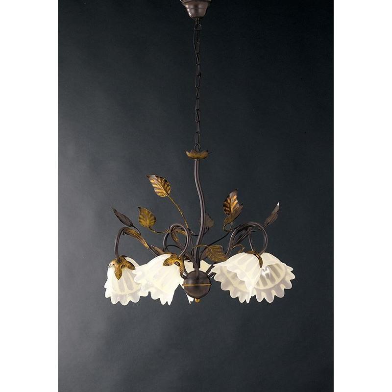 lampadario in ferro battuto lampada classico camera da