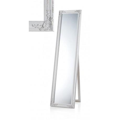 Specchiera design specchiera da terra specchio cornice legno specchiera bianca - Specchio cornice bianca ...