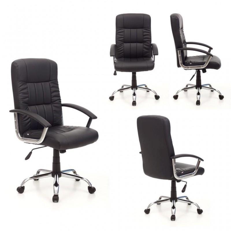 Poltrona ufficio sedia scrivania girevole sedie studio for Sedia scrivania