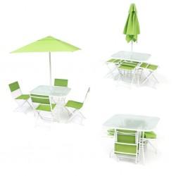 tavolo giardino ombrellone arredo giardino in ferro sedie da esterno