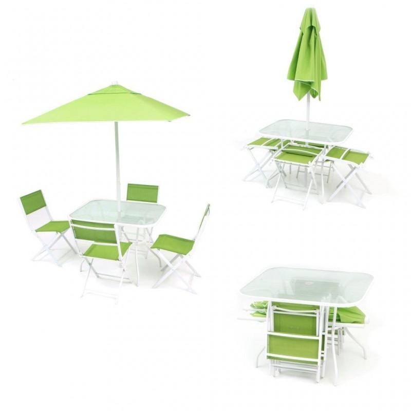 Tavolo giardino ombrellone arredo giardino in ferro sedie for Arredo giardino in ferro