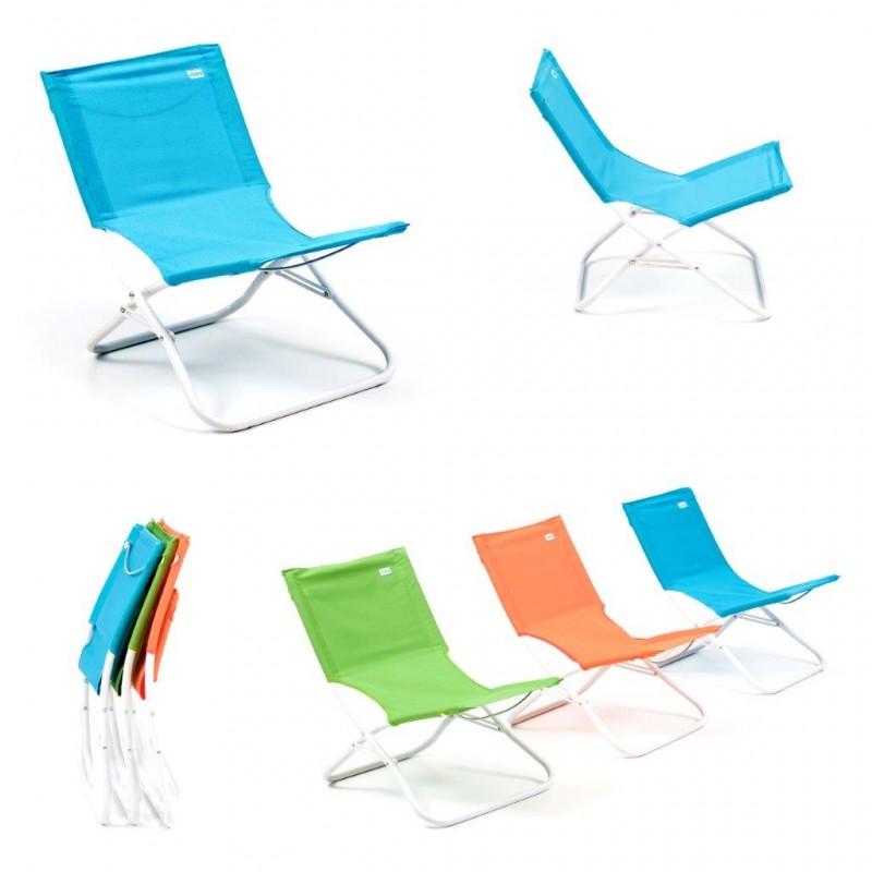 Spiaggina alluminio lettino mare sdraio piscina sedia mare - Lettino piscina alluminio ...