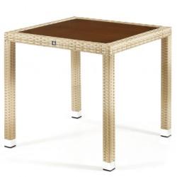 tavolo giardino sedia In alluminio TAVOLO POLYRATTAN WICKER TAVOLO ESTERNO