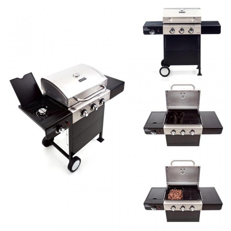 BARBECUE gas fornello cucina giardino arredo barbecue a gas pietra ...