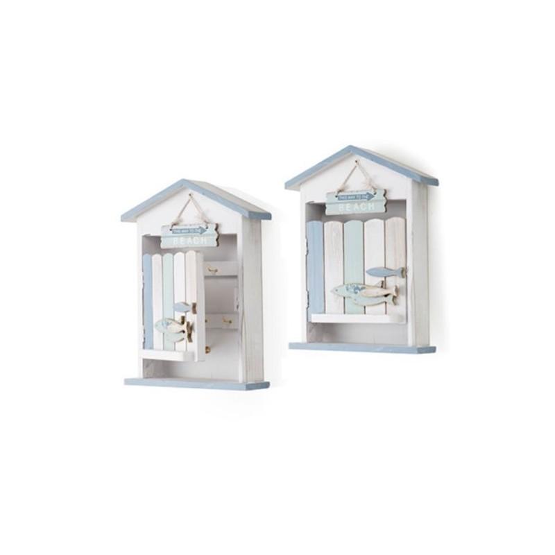 Portachiavi in legno portachiave design da ingresso appendino a parete - Portachiavi da parete design ...