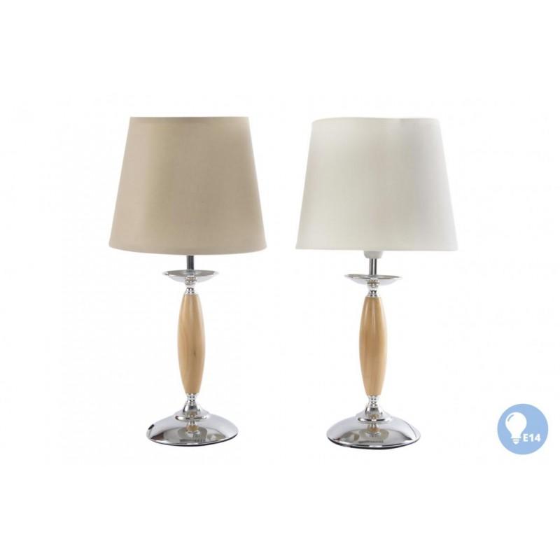 LAMPADA APPOGGIO LUME DA CAMERA SOGGIORNO IN LEGNO E METALLO ...