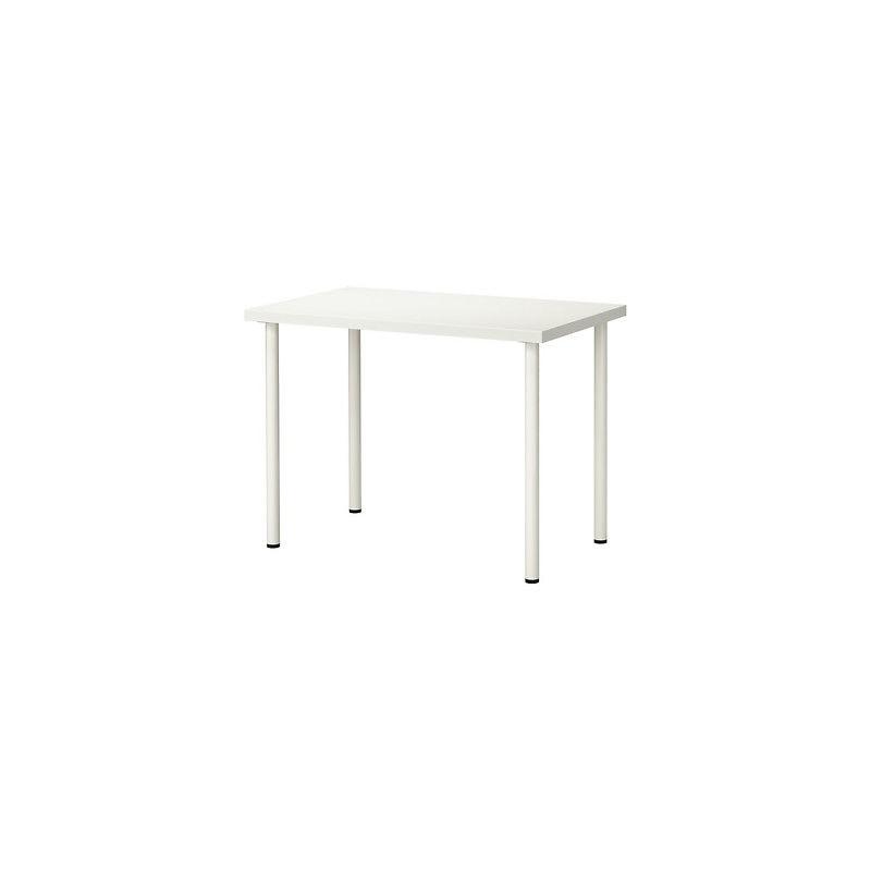 Tavolo cucina legno bianco tavola scrivania legno for Tavolo rettangolare bianco