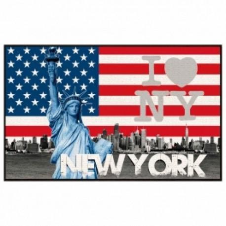 TAPPETO USA NEW YORK TAPPETO AMERICA 50 X 80 BAGNO CAMERETTA INGRESSO