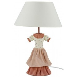 LAMPADA DA TAVOLO ABITO DONNA LAMPADA COMODINO CAMERA DA APPOGGIO