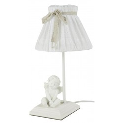 LAMPADA DA TAVOLO CON ANGELO LAMPADA COMODINO CAMERA DA APPOGGIO