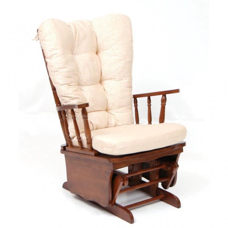 Poltrona anziani sedia a dondolo in legno poltrona relax - Sedia a dondolo prezzi ...