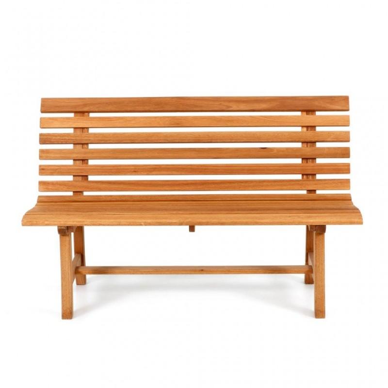 Panca in legno panchina giardino 3 posti panca giardino for Arredo esterno in legno