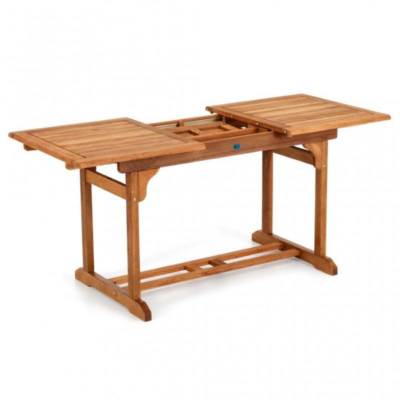 Tavolo da giardino tavola in legno tavolo legno for Arredo giardino in legno