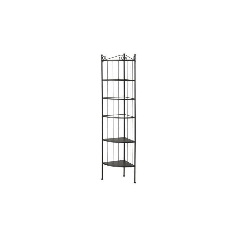 Libreria in ferro battuto libreria design scaffale etagere for Mensole in ferro battuto