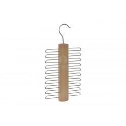 stampella gruccia in legno portacravatte portabiti stampelle appendini cravatta