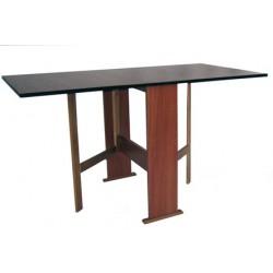 Tavolo pieghevole in legno 2 lati indipendenti per cucina esterni emergenza