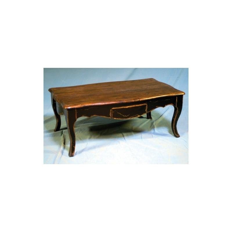 Tavolino Salotto Rustico.Tavolino Salotto In Legno Massello Classico Rustico