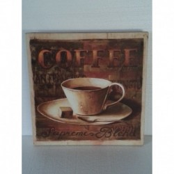 QUADRO CAFFE' stampa su tela per bar ristorante