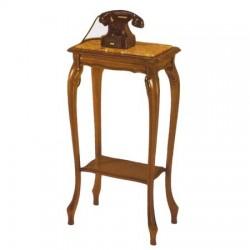 tavolino comodino portatelefono piano in marmo