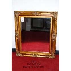 Specchio con cornice per ingresso camera