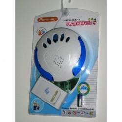 Campanello senza fili avvisatore acustico visivo disabili
