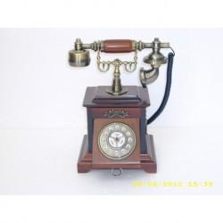 TELEFONO D'EPOCA IN LEGNO