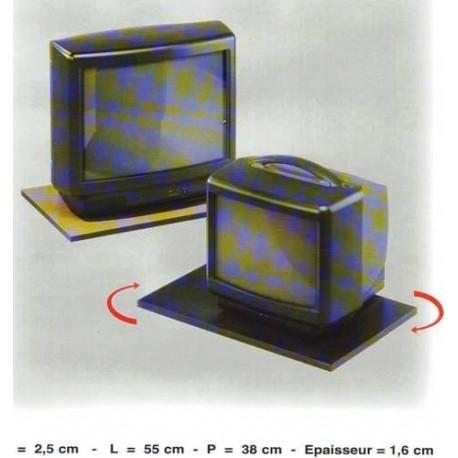 PIANO GIREVOLE PER TELEVISORI IN LEGNO