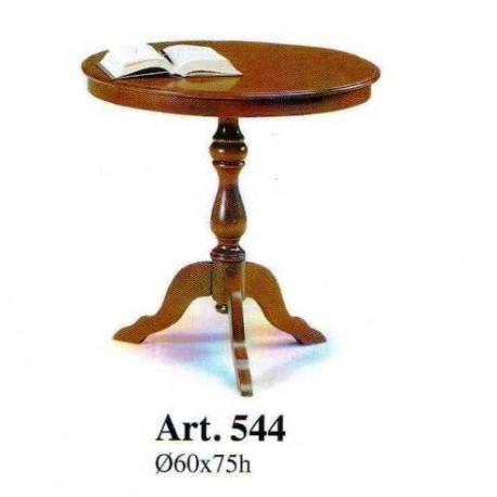 Tavolo Rotondo In Legno Arte Povera.Tavolino Tondo Alto Da Camera Soggiorno In Legno Arte Povera Comodino