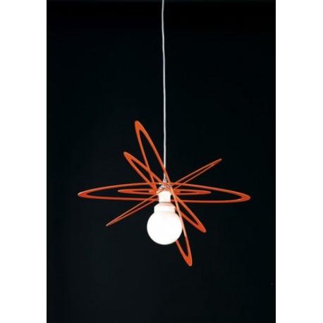 LAMPADARIO MODERNO PER CAMERETTA LAMPADA DESIGN SOSPENSIONE A SOFFITTO IN  ABS MADE ITALY