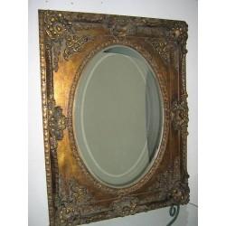 Specchiera barocco in legno intagliata